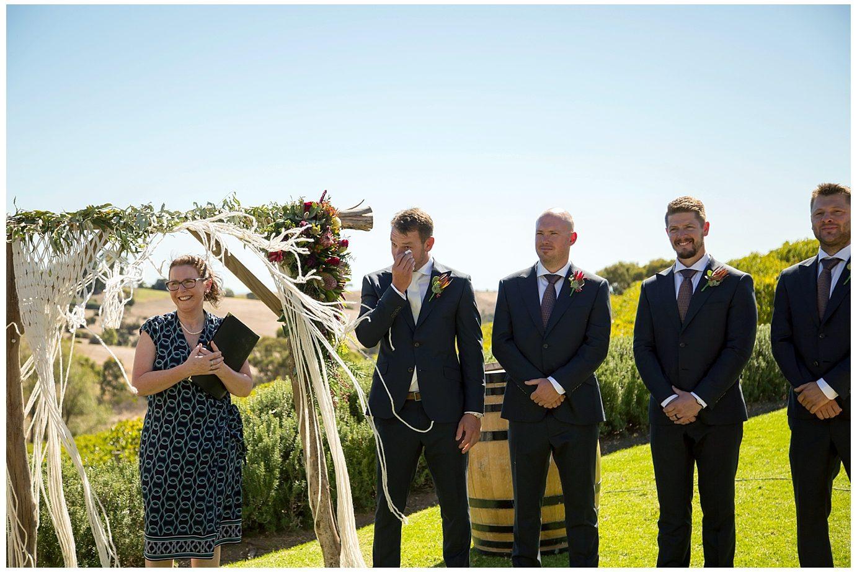 Phil and Ellen McLaren Vale Wedding